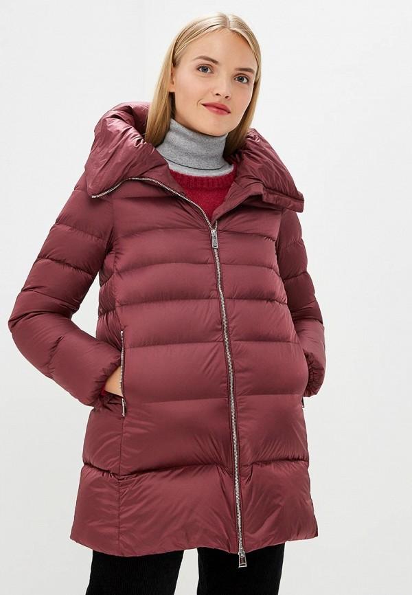 Купить Пуховик Add, Add AD504EWCGOJ3, бордовый, Осень-зима 2018/2019