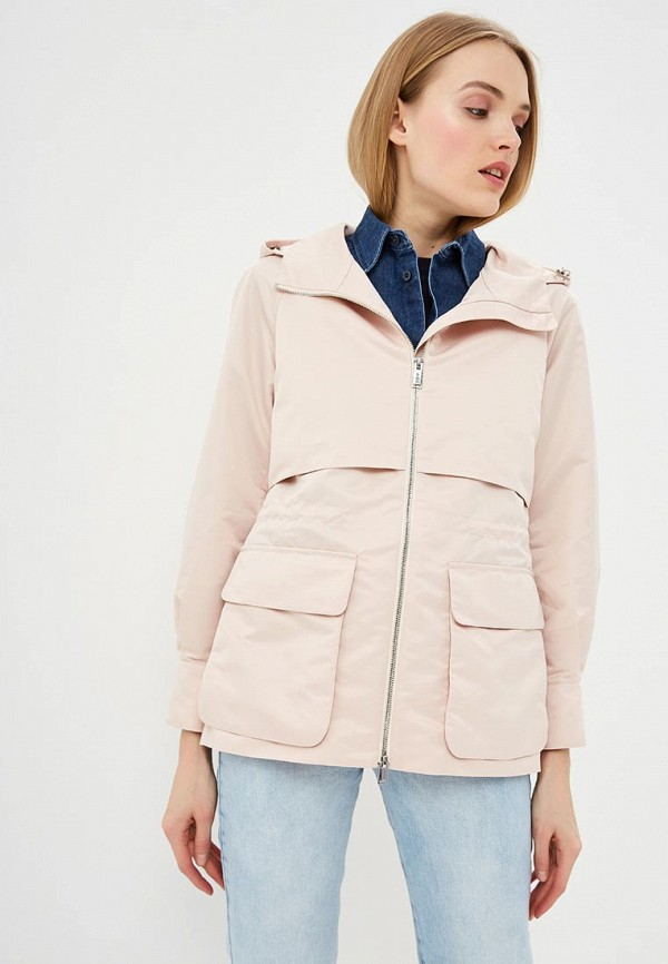 женская куртка add, розовая