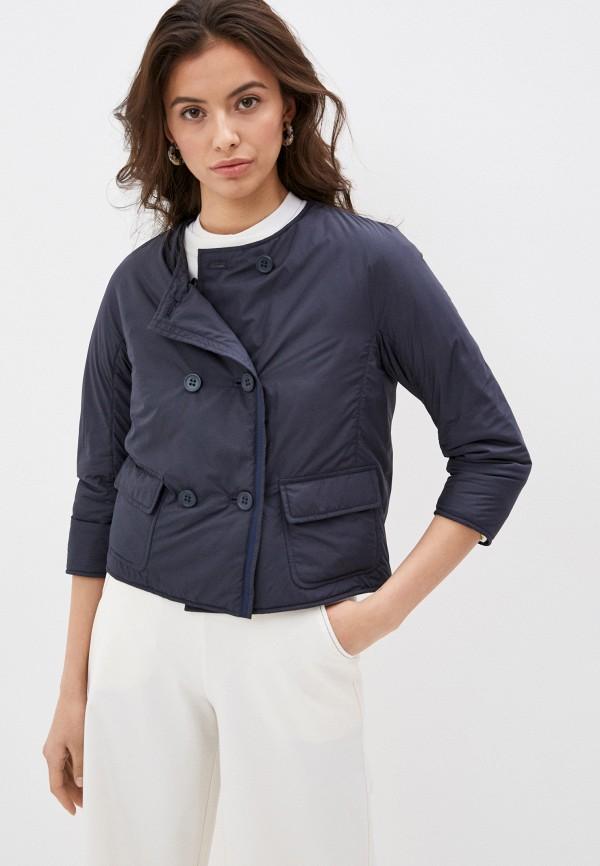 женская куртка add, синяя