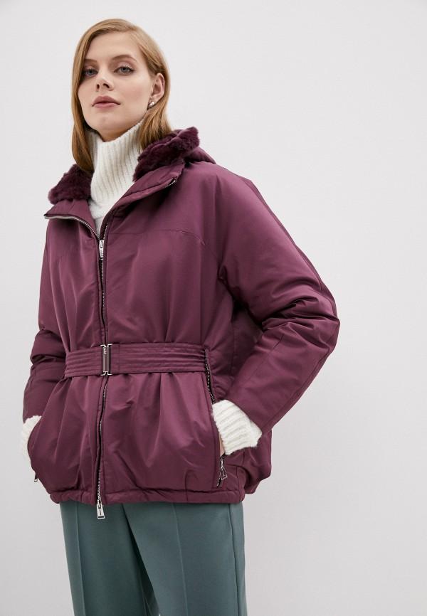 женская куртка add, фиолетовая