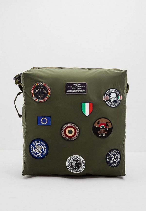 Купить Сумка спортивная Aeronautica Militare, Aeronautica Militare AE003BMCCWK6, хаки, Осень-зима 2018/2019