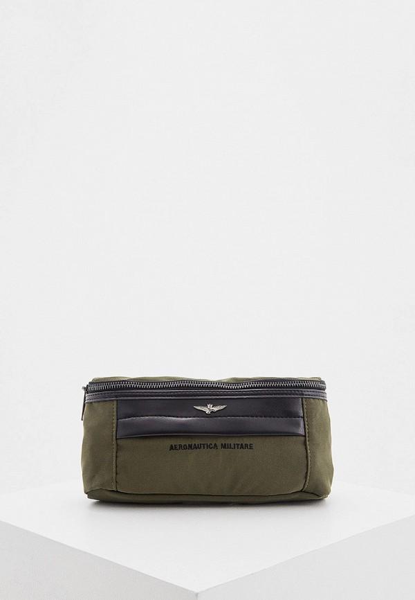 мужская сумка aeronautica militare, хаки