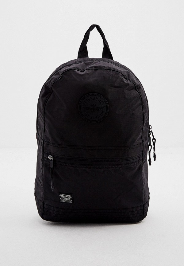 мужской рюкзак aeronautica militare, черный