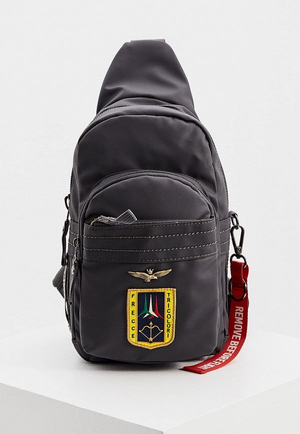 мужской рюкзак aeronautica militare, серый