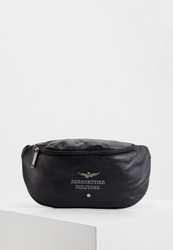 мужская сумка aeronautica militare, черная