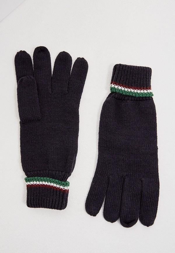 Фото - мужские текстильные перчатки Aeronautica Militare синего цвета