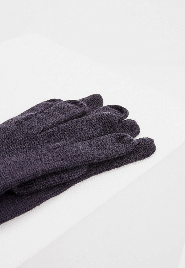Фото 3 - мужские текстильные перчатки Aeronautica Militare синего цвета