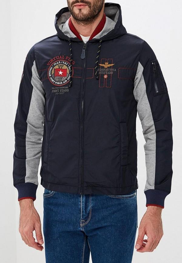 Купить Куртка Aeronautica Militare, Aeronautica Militare AE003EMCCWM1, синий, Осень-зима 2018/2019
