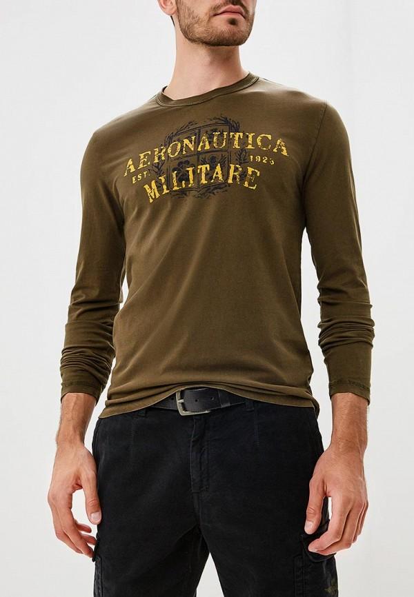 Купить Лонгслив Aeronautica Militare, Aeronautica Militare AE003EMCCXN9, хаки, Осень-зима 2018/2019