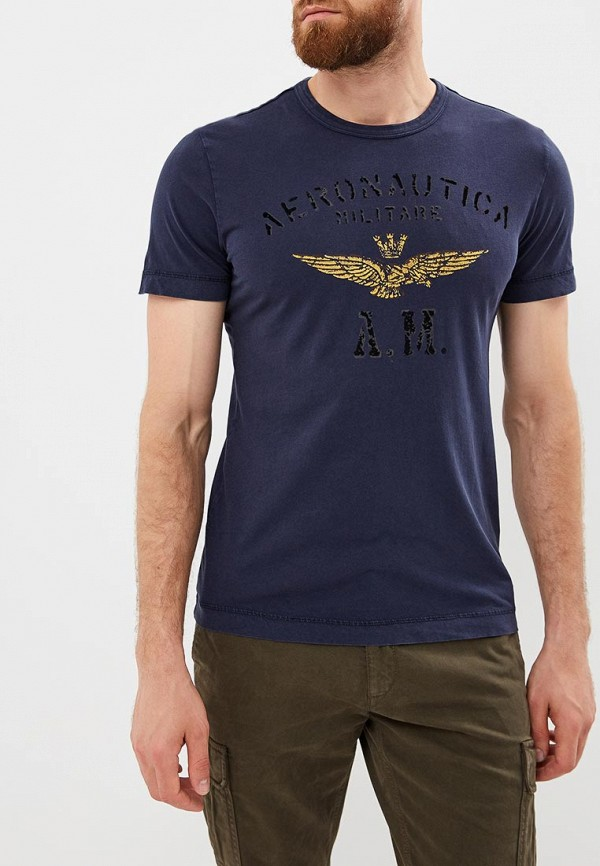 Футболка Aeronautica Militare Aeronautica Militare AE003EMCCXP4 aeronautica militare футболка