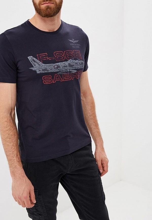 Футболка Aeronautica Militare Aeronautica Militare AE003EMCCXP6 aeronautica militare футболка