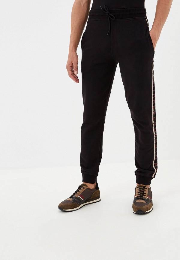 мужские спортивные спортивные брюки aeronautica militare, черные