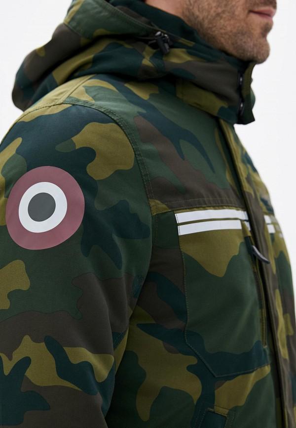 Фото 6 - Куртку утепленная Aeronautica Militare цвета хаки