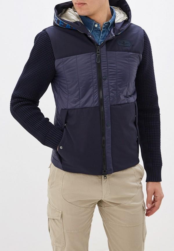 Фото - Куртку утепленная Aeronautica Militare синего цвета