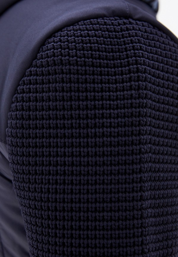 Фото 6 - Куртку утепленная Aeronautica Militare синего цвета