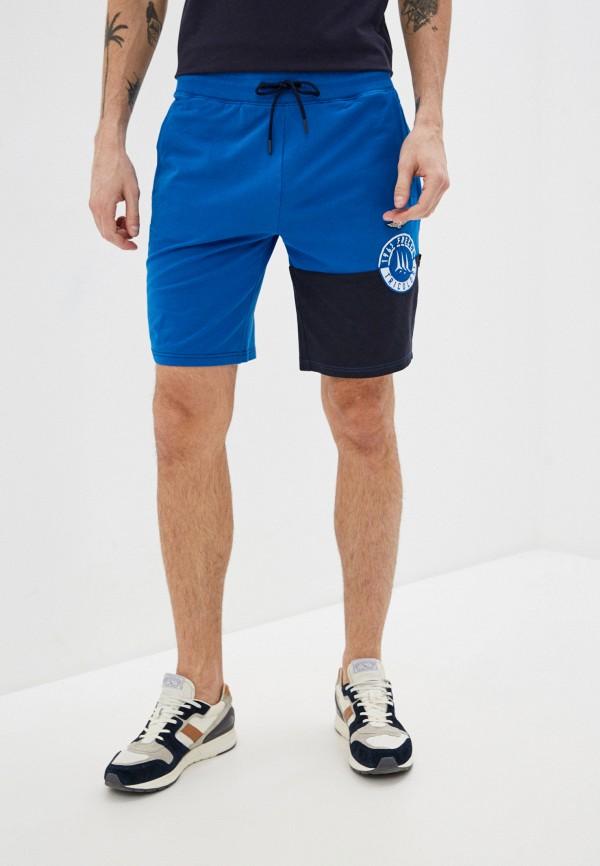 мужские спортивные шорты aeronautica militare, синие