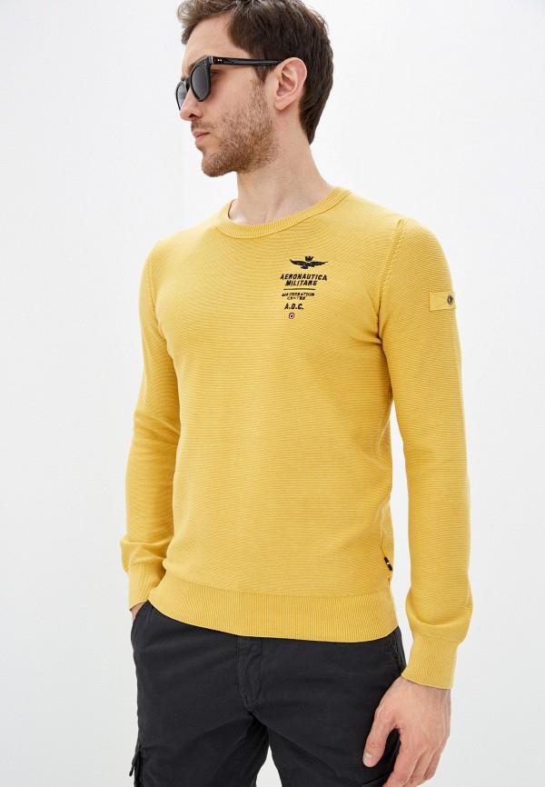 мужской джемпер aeronautica militare, желтый
