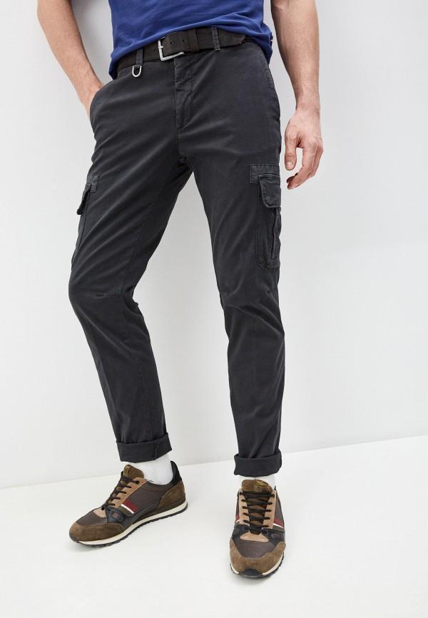 мужские повседневные брюки aeronautica militare, черные
