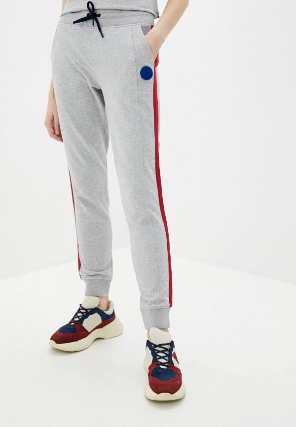 женские спортивные брюки aeronautica militare, серые