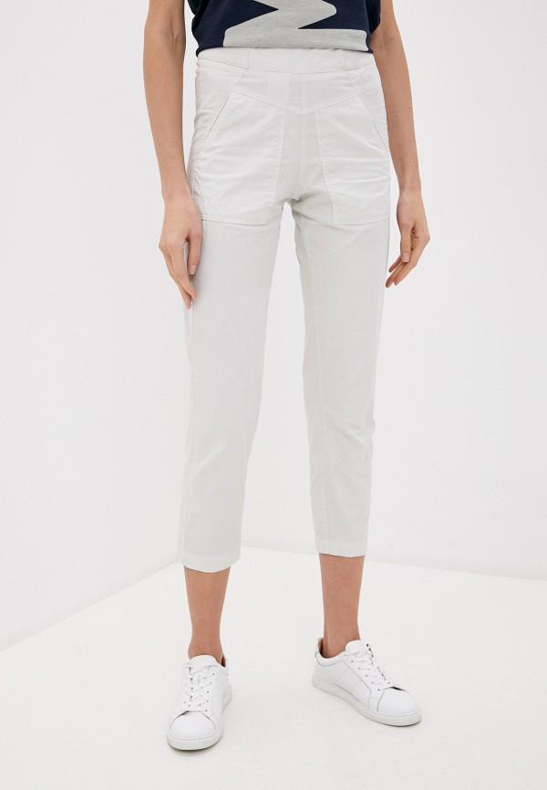 женские повседневные брюки aeronautica militare, белые