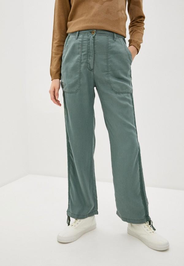 женские повседневные брюки aeronautica militare, хаки