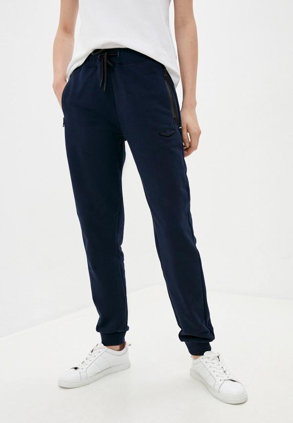 женские спортивные брюки aeronautica militare, синие