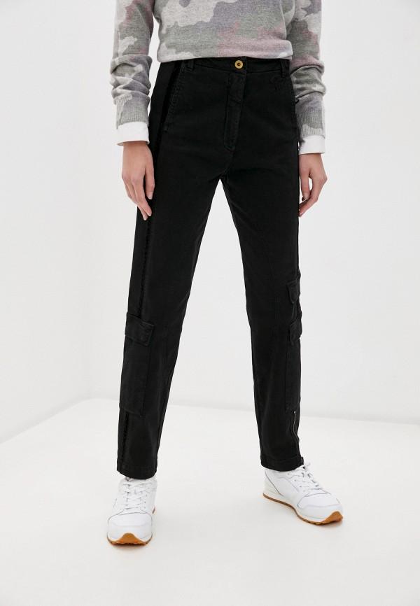 женские брюки aeronautica militare, черные