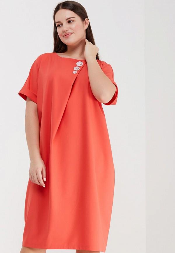 женское повседневные платье aelite, красное