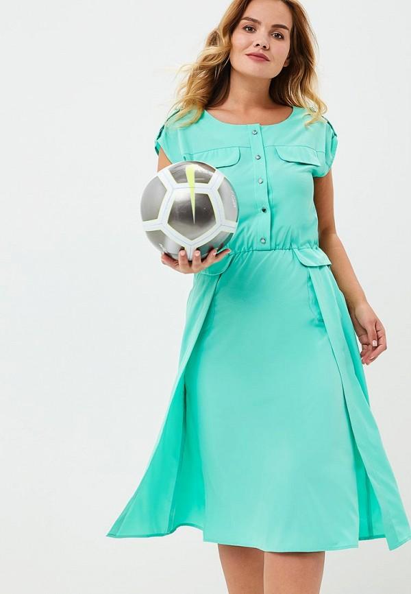 Купить Платье Aelite, Aelite AE004EWBVKS1, бирюзовый, Весна-лето 2018