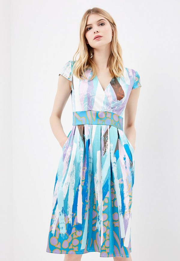 Купить Платье Aelite, Aelite AE004EWBVKS2, голубой, Весна-лето 2018