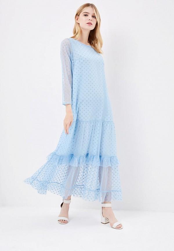 Купить Платье Aelite, Aelite AE004EWBVKS4, голубой, Весна-лето 2018