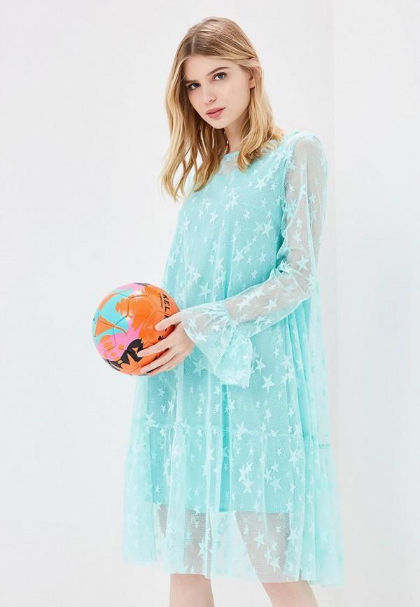 Купить Платье Aelite, Aelite AE004EWBVKS6, бирюзовый, Весна-лето 2018