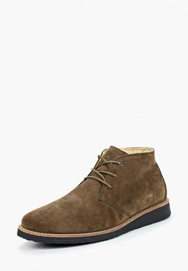 Купить Ботинки Affex, af003amcasu8, коричневый, Осень-зима 2018/2019