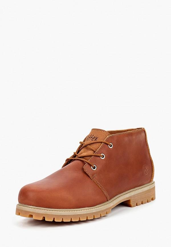 Купить Ботинки Affex, Affex AF003AMCASV1, коричневый, Осень-зима 2018/2019