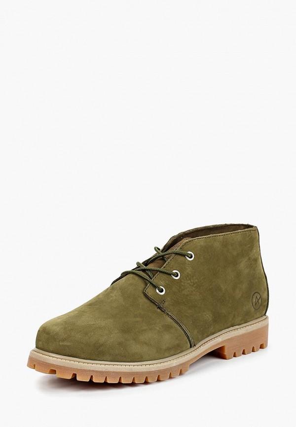 Купить Ботинки Affex, Affex AF003AMCASV3, зеленый, Осень-зима 2018/2019
