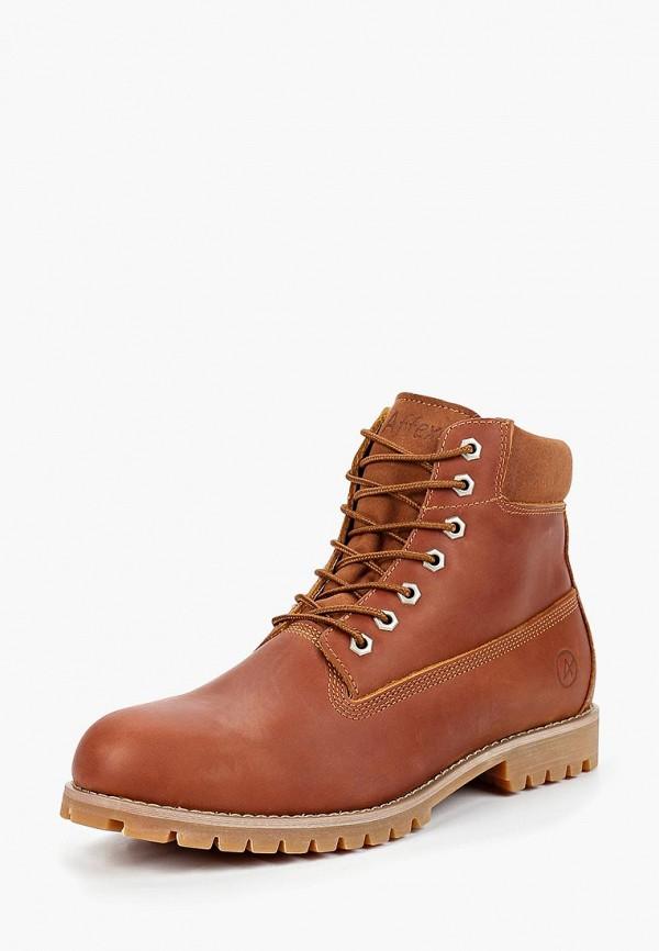 Ботинки Affex, Affex AF003AMCASV7, коричневый, Осень-зима 2018/2019  - купить со скидкой