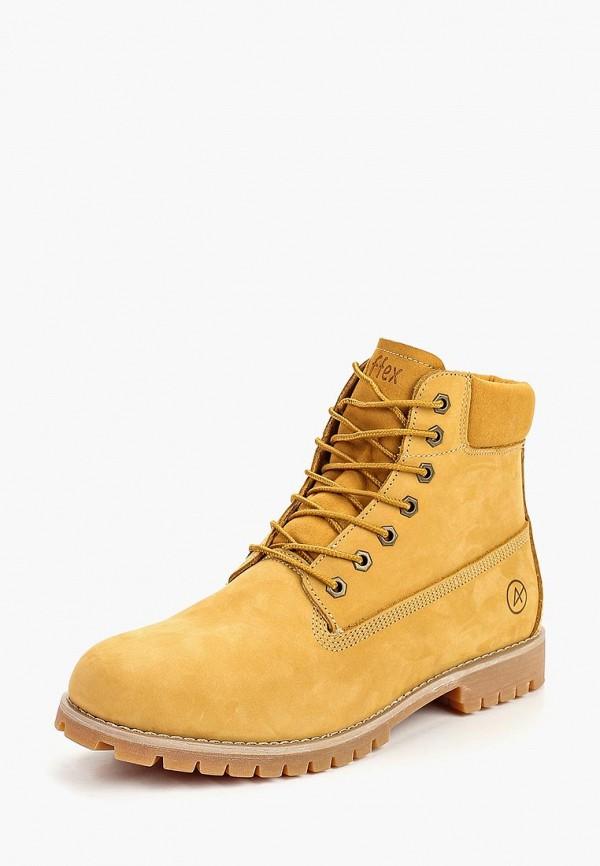 Купить Ботинки Affex, Affex AF003AMCASV8, желтый, Осень-зима 2018/2019