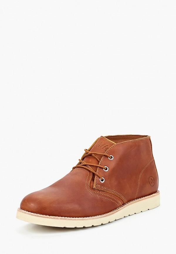 Купить Ботинки Affex, Affex AF003AMCASX6, коричневый, Осень-зима 2018/2019