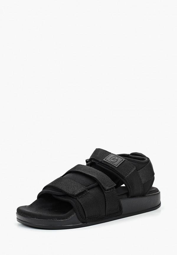 Фото 2 - женские сандали Affex черного цвета