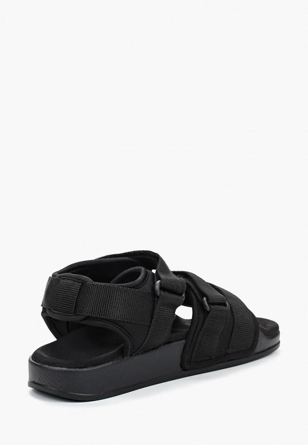 Фото 3 - женские сандали Affex черного цвета