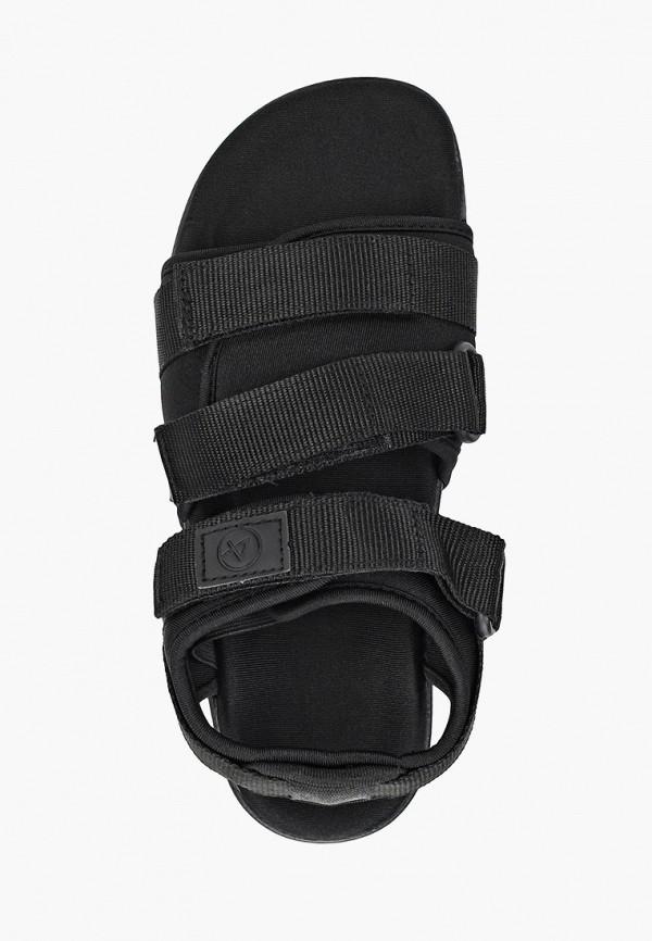 Фото 4 - женские сандали Affex черного цвета