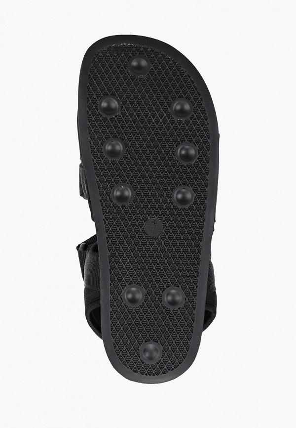 Фото 5 - женские сандали Affex черного цвета