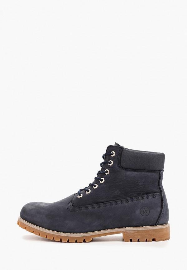 мужские ботинки affex, синие