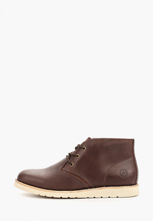 Фото - мужские ботинки и полуботинки Affex коричневого цвета