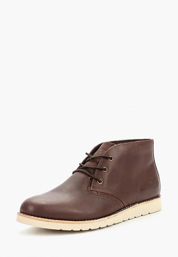Фото 2 - мужские ботинки и полуботинки Affex коричневого цвета