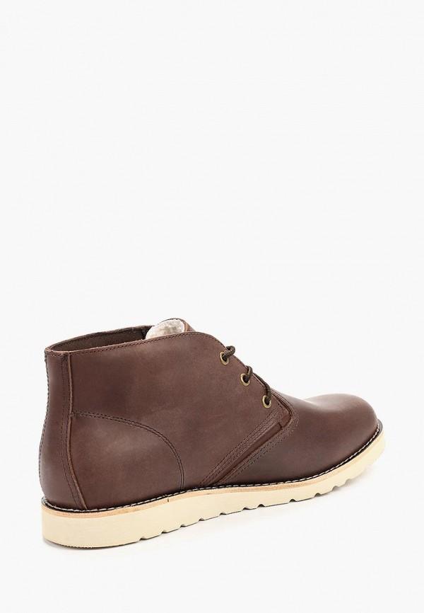 Фото 3 - мужские ботинки и полуботинки Affex коричневого цвета