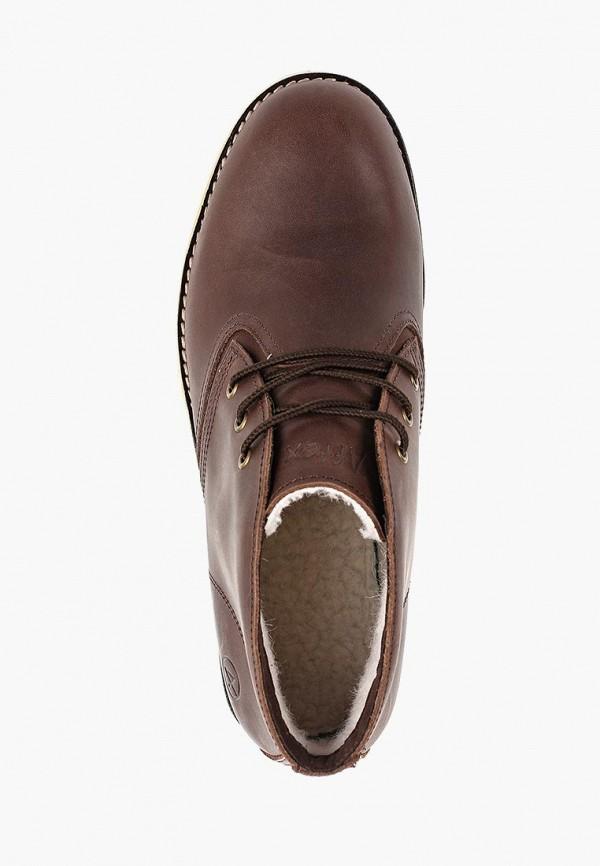 Фото 4 - мужские ботинки и полуботинки Affex коричневого цвета