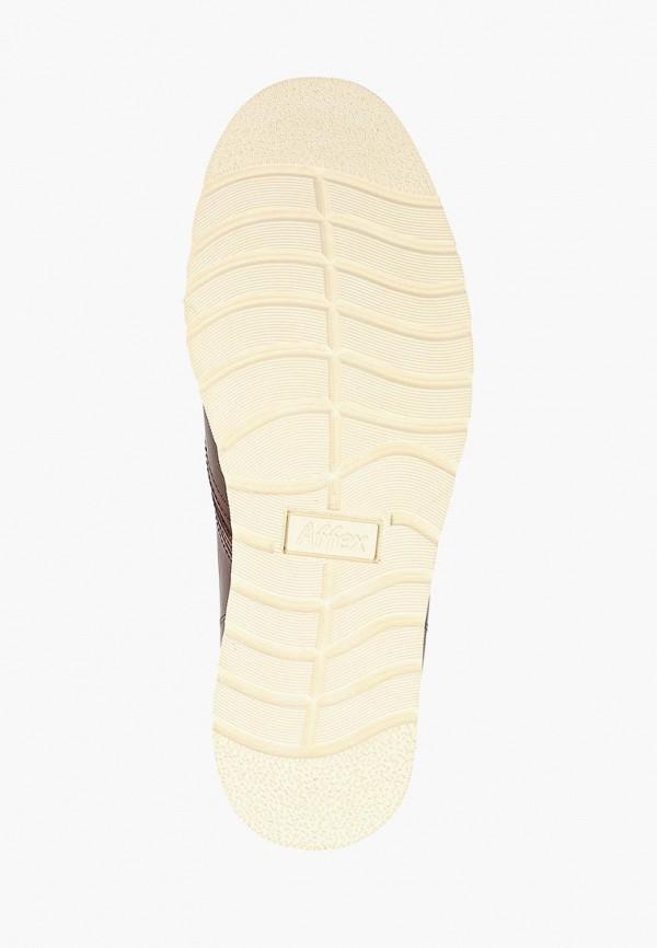 Фото 5 - мужские ботинки и полуботинки Affex коричневого цвета