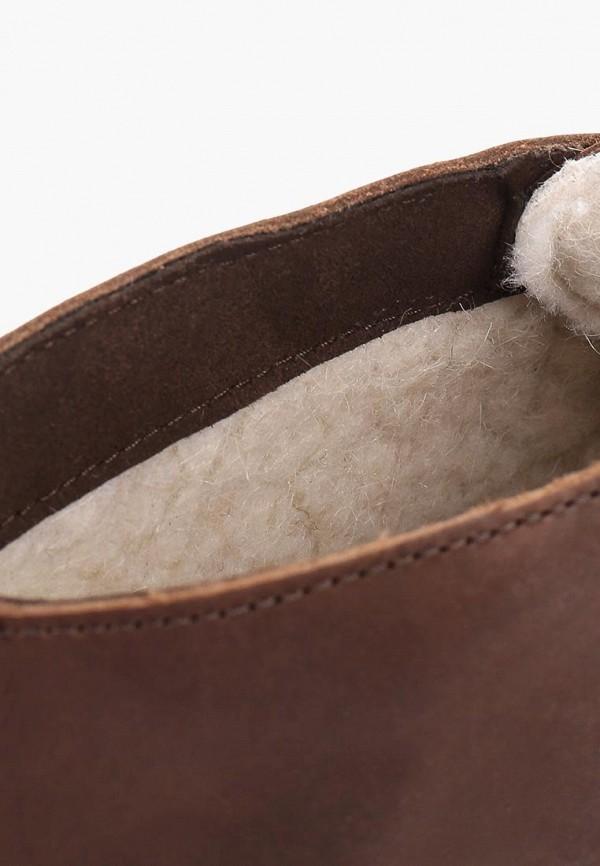 Фото 6 - мужские ботинки и полуботинки Affex коричневого цвета