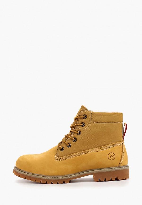 мужские ботинки affex, желтые